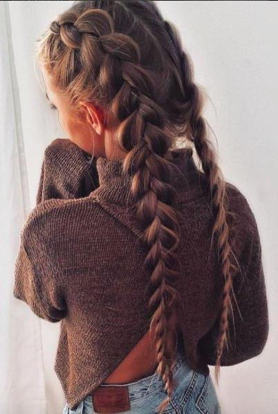 Best 10+ Braided Hairstyles Ideas On Pinterest | Hair Styles With Regard To Long Hairstyles Braids (View 4 of 15)