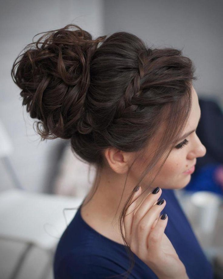 Best 10+ Buns Ideas On Pinterest | Messy Bun Tutorials, Long Hair Inside Long Hairstyles Buns (View 13 of 15)