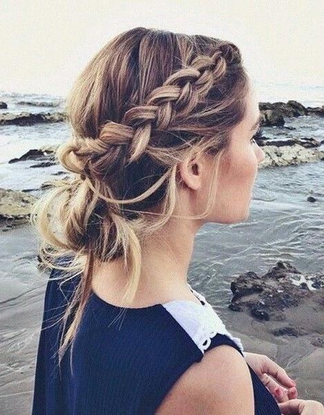 Best 10+ Casual Braids Ideas On Pinterest | Casual Braided In Casual Braids For Long Hair (View 3 of 15)