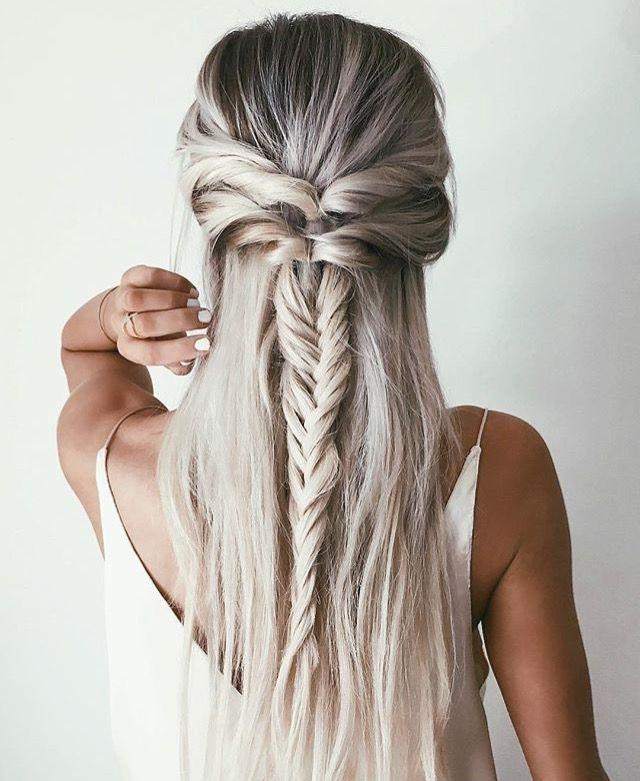 Best 10+ Casual Braids Ideas On Pinterest | Casual Braided Intended For Casual Braids For Long Hair (View 5 of 15)