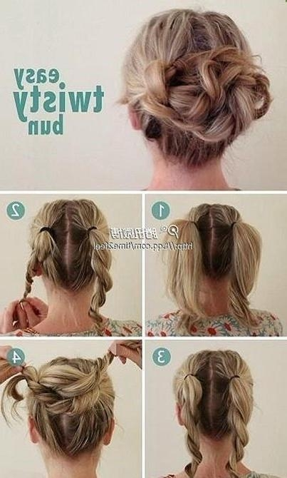 Best 10+ Easy Work Hairstyles Ideas On Pinterest | Work Hairstyles Intended For Long Hairstyles For Work (View 5 of 15)