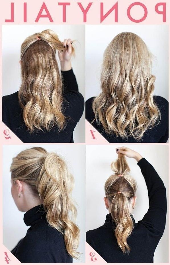 Best 10+ Easy Work Hairstyles Ideas On Pinterest | Work Hairstyles Pertaining To Long Hairstyles For Work (View 6 of 15)