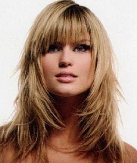 Best 10+ Layers Around Face Ideas On Pinterest | Long Hairstyles With Long Hairstyles Layers With Bangs (View 3 of 15)