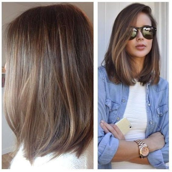 Best 10+ Long Bob Haircuts Ideas On Pinterest | Bob Hairstyles Inside Long Hairstyles Bob (View 8 of 15)