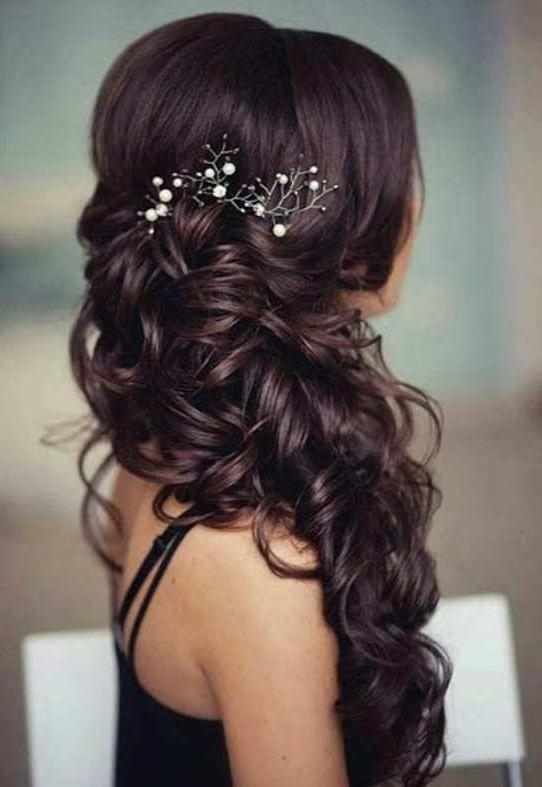 Best 10+ Romantic Wedding Hairstyles Ideas On Pinterest With Regard To Long Hairstyles Wedding (View 13 of 15)