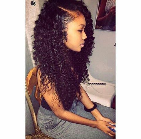 Photo Gallery of Long Hairstyles Sew In (Viewing 11 of 15 Photos)