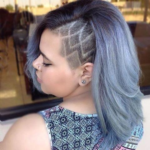 Best 10+ Shaved Side Hairstyles Ideas On Pinterest | Short Inside Long Hairstyles With Shaved Sides (View 10 of 15)