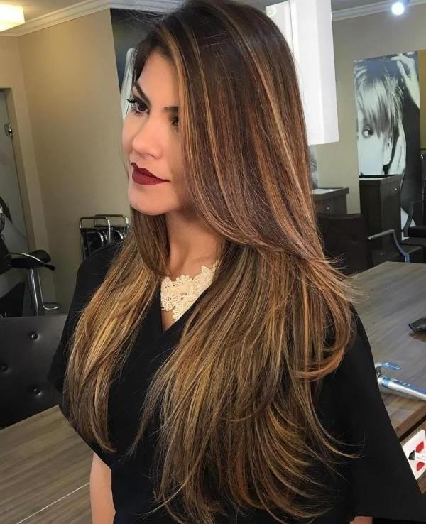 Best 10+ Thin Highlights Ideas On Pinterest | Hair Color In Long Hairstyles Highlights (View 11 of 15)