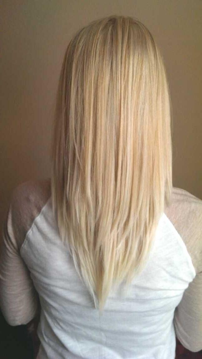 Best 10+ V Layer Cut Ideas On Pinterest | V Layers, Long Hair In Long Hairstyles V Cut (View 6 of 15)
