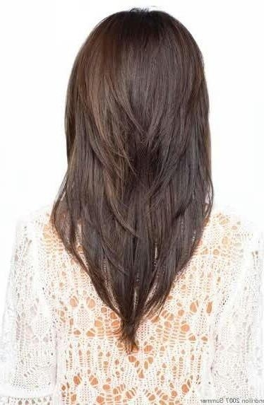 Best 10+ V Layer Cut Ideas On Pinterest | V Layers, Long Hair In Long Hairstyles V Shape (View 4 of 15)