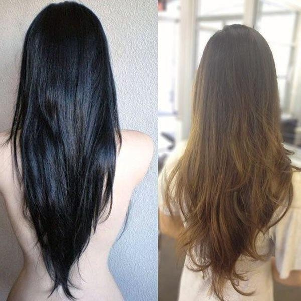 Best 10+ V Layer Cut Ideas On Pinterest | V Layers, Long Hair Pertaining To Long Hairstyles V Shape (View 5 of 15)