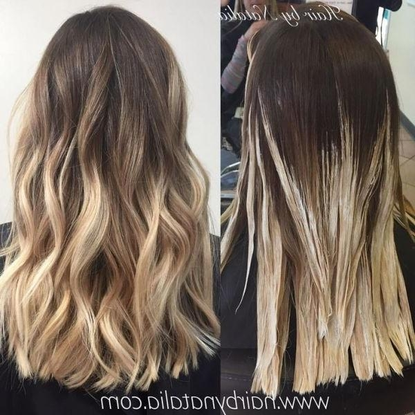 Best 20+ Balayage Hair Ideas On Pinterest | Balyage Hair, Baylage Regarding Long Hairstyles Balayage (View 4 of 15)