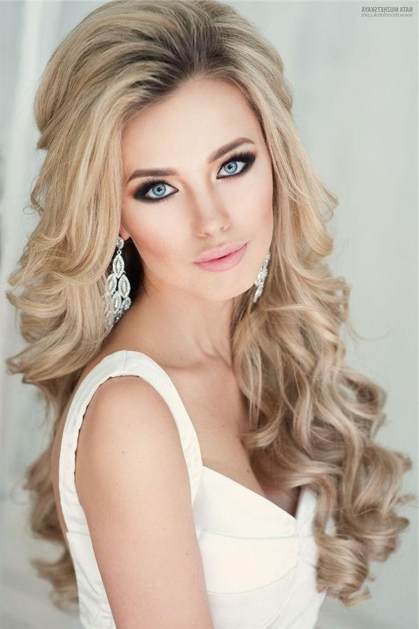 Best 20+ Bridal Hair Down Ideas On Pinterest | Bridesmaid Hair Pertaining To Long Hairstyles Down (View 5 of 15)