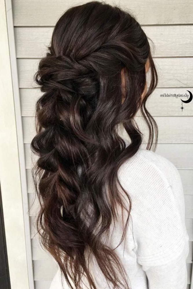 Best 20+ Bridesmaid Long Hair Ideas On Pinterest | Grad Hairstyles Intended For Long Hairstyles Bridesmaid (View 9 of 15)