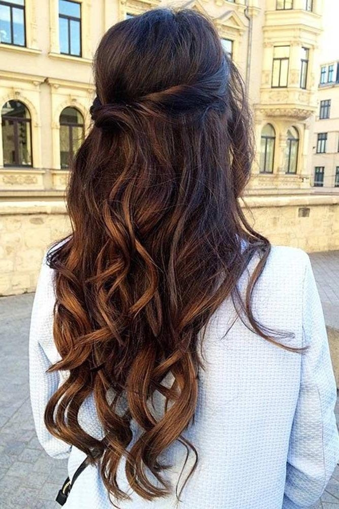 Best 20+ Bridesmaid Long Hair Ideas On Pinterest | Grad Hairstyles Throughout Long Hairstyles Bridesmaid (View 12 of 15)