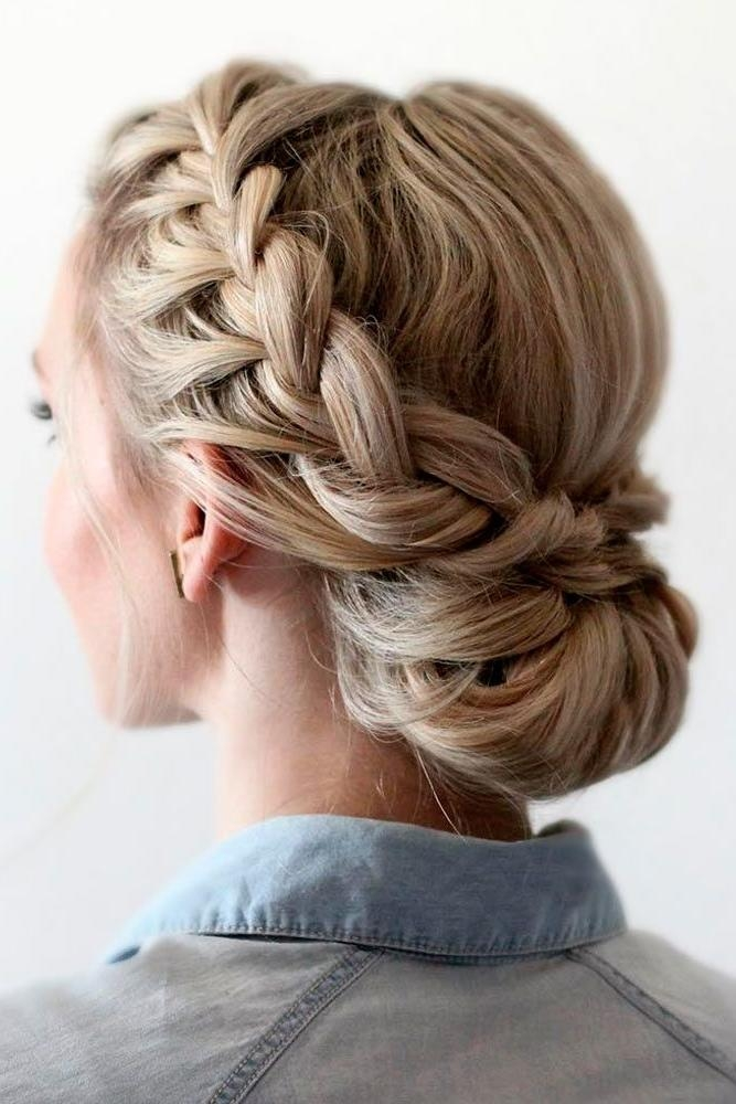 Best 20+ Bridesmaids Hairstyles Ideas On Pinterest | Bridesmaid Pertaining To Long Hairstyles Upstyles (View 6 of 15)