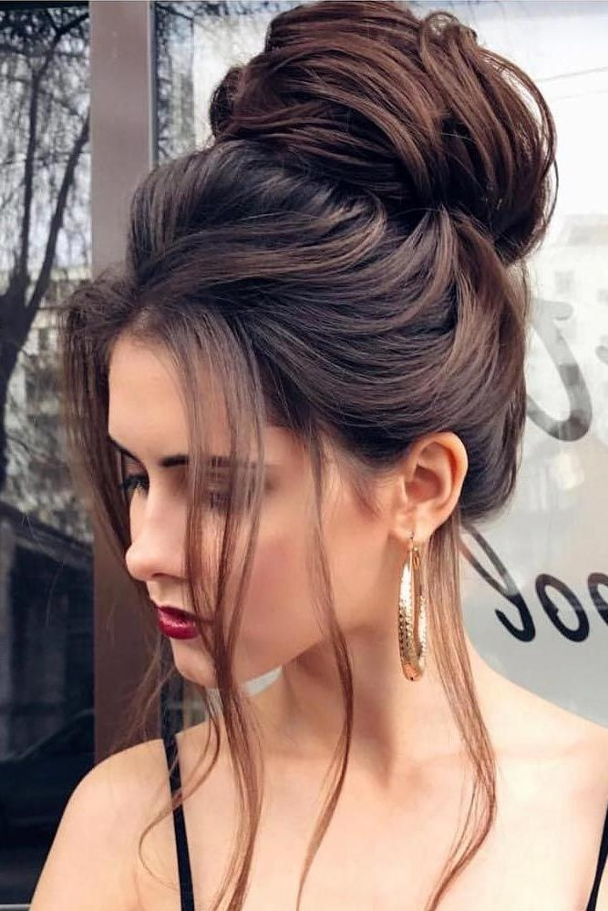 Best 20+ Bun Hairstyles Ideas On Pinterest | Easy Bun Hairstyles Intended For Long Hairstyles Buns (View 4 of 15)