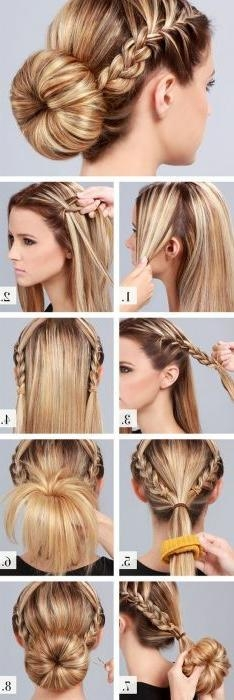 Best 20+ Bun Hairstyles Ideas On Pinterest | Easy Bun Hairstyles With Long Hairstyles Buns (View 2 of 15)