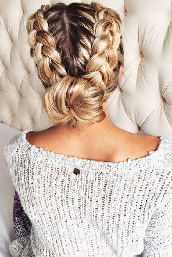 Best 20+ Casual Braided Hairstyles Ideas On Pinterest | Hair With Regard To Casual Braids For Long Hair (View 6 of 15)
