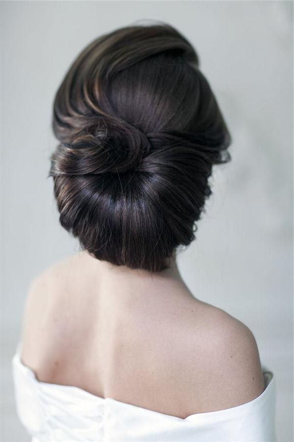 Best 20+ Classic Updo Hairstyles Ideas On Pinterest | Classic Updo Intended For Vintage Updos Hairstyles For Long Hair (View 4 of 15)