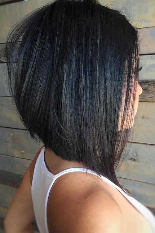 Asymmetrical Bob Haircut Short Asymmetrical Bob Haircut