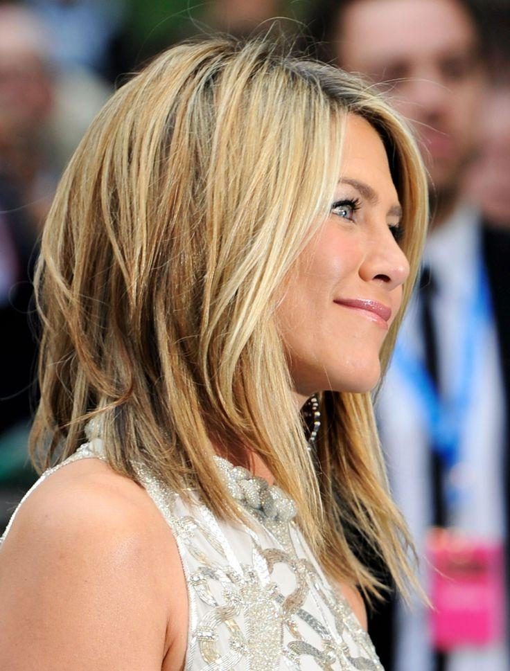 Best 20+ Jennifer Aniston Long Bob Ideas On Pinterest | Jennifer Inside Long Layered Hairstyles Jennifer Aniston (View 2 of 15)