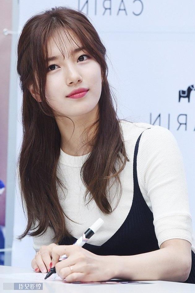 Best 20+ Korean Bangs Ideas On Pinterest | Asian Bangs, Korean Throughout Semi Long Hairstyles Korean (View 6 of 15)