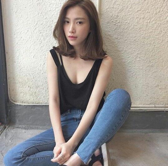 Best 20+ Korean Short Hair Ideas On Pinterest | Asian Short Hair In Long Bob Hairstyles Korean (View 4 of 15)
