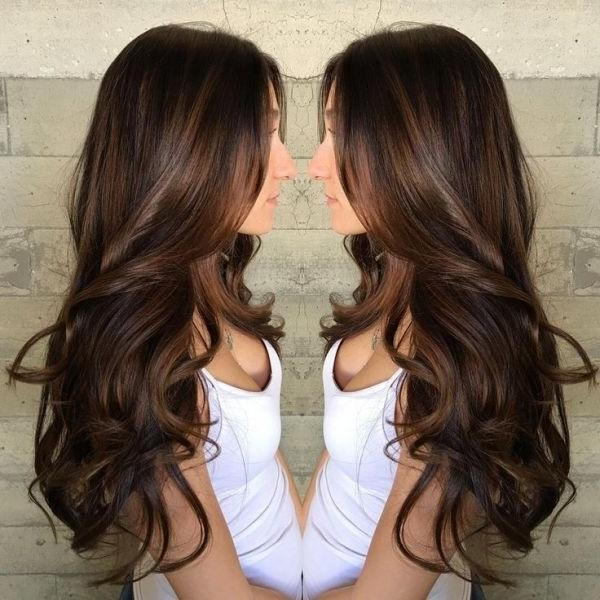 Best 20+ Long Brown Hair Ideas On Pinterest | Beautiful Brown Hair For Long Hairstyles Brown Hair (View 5 of 15)
