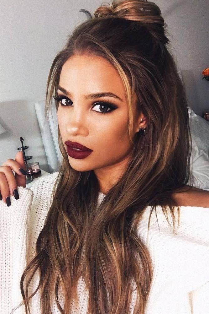 Best 20+ Long Brown Hair Ideas On Pinterest | Beautiful Brown Hair Intended For Long Hairstyles Brown Hair (View 7 of 15)