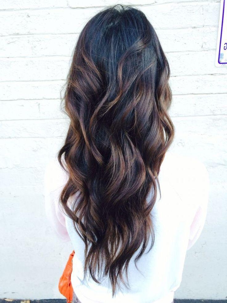 Best 20+ Long Hair Colors Ideas On Pinterest | Baylage Brunette For Long Hairstyles Colours (View 7 of 15)