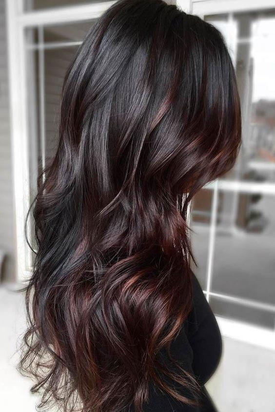 Best 20+ Long Hair Colors Ideas On Pinterest | Baylage Brunette In Long Hairstyles Colours (View 8 of 15)