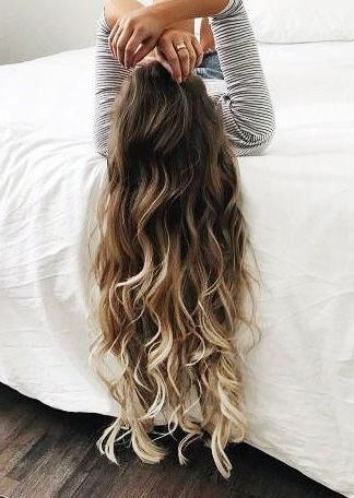 Best 20+ Long Hair Colors Ideas On Pinterest | Baylage Brunette Intended For Long Hairstyles And Color (View 6 of 15)