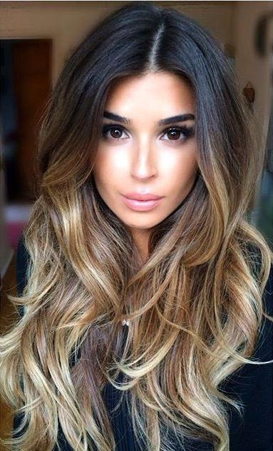 Best 20+ Long Hair Colors Ideas On Pinterest | Baylage Brunette Intended For Long Hairstyles Colors (View 2 of 15)