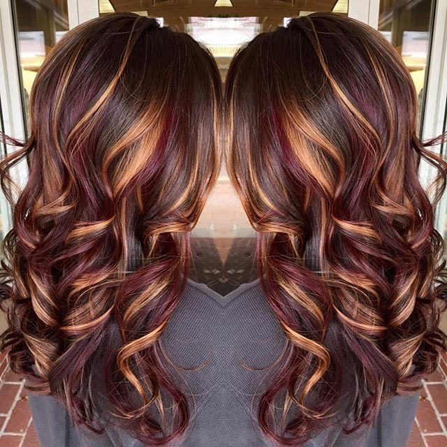 Featured Photo of Long Hairstyles Colours