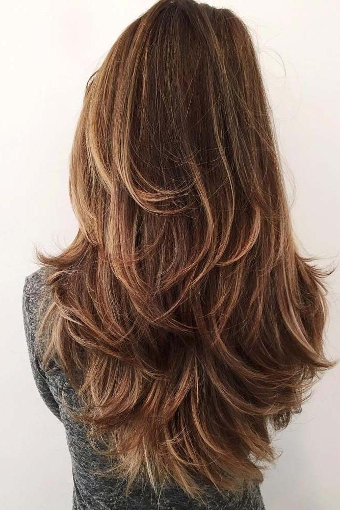 Best 20+ Long Hair Colors Ideas On Pinterest | Baylage Brunette Within Long Hair Colors And Cuts (View 3 of 15)