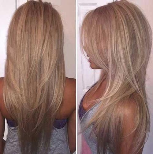 Best 20+ Long Hairstyles Ideas On Pinterest | In Style Hair, Work Pertaining To Long Hairstyles (View 11 of 15)