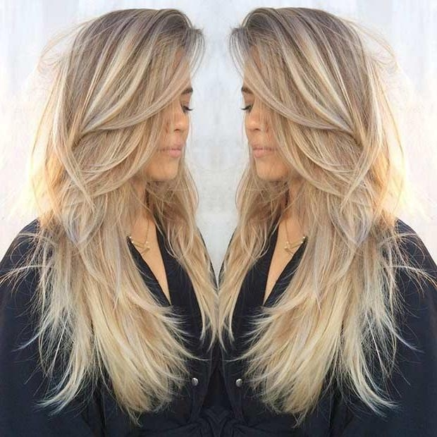 Best 20+ Long Straight Haircuts Ideas On Pinterest | Straight Within Long Hairstyles That Give Volume (View 4 of 15)