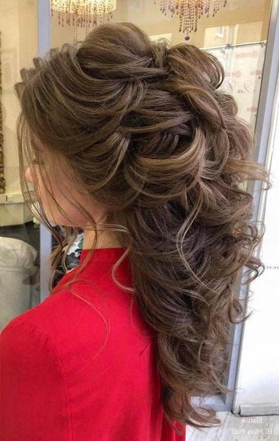 Best 20+ Long Wedding Hairstyles Ideas On Pinterest | Long Hair Inside Long Hairstyles Wedding (View 12 of 15)