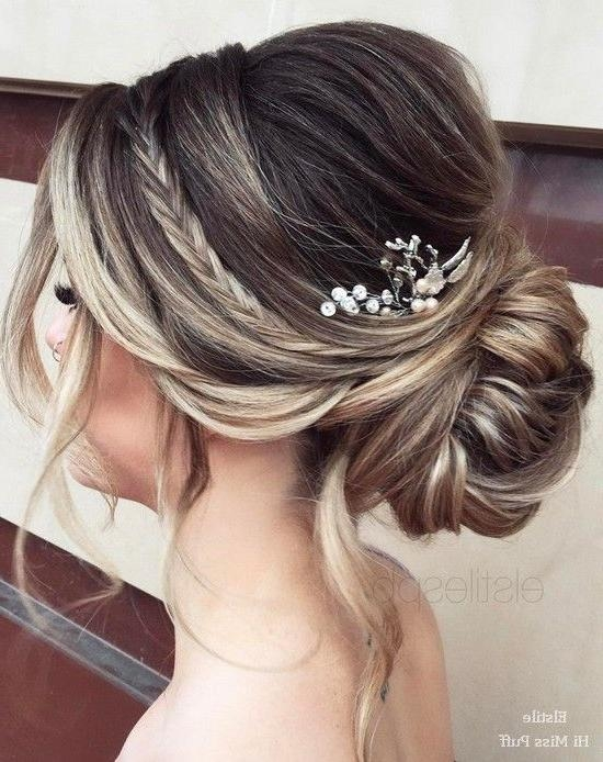 Photo Gallery Of Long Hairstyles Bridesmaid Viewing 10 Of 15 Photos