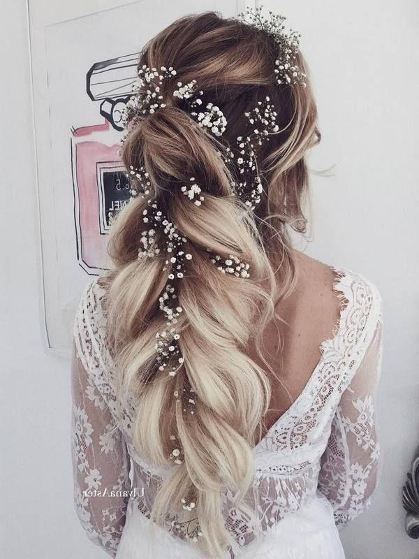 Best 20+ Long Wedding Hairstyles Ideas On Pinterest | Long Hair Within Long Hairstyles For Wedding (View 9 of 15)