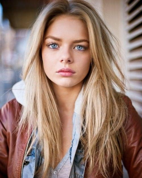 15 Collection of Middle Parting Hairstyles For Long Hair