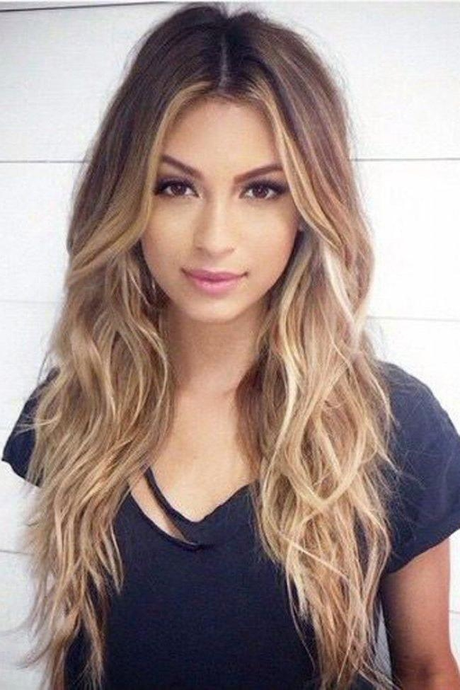 Best 20+ Middle Part Hairstyles Ideas On Pinterest | Middle Part In Middle Parting Hairstyles For Long Hair (View 2 of 15)