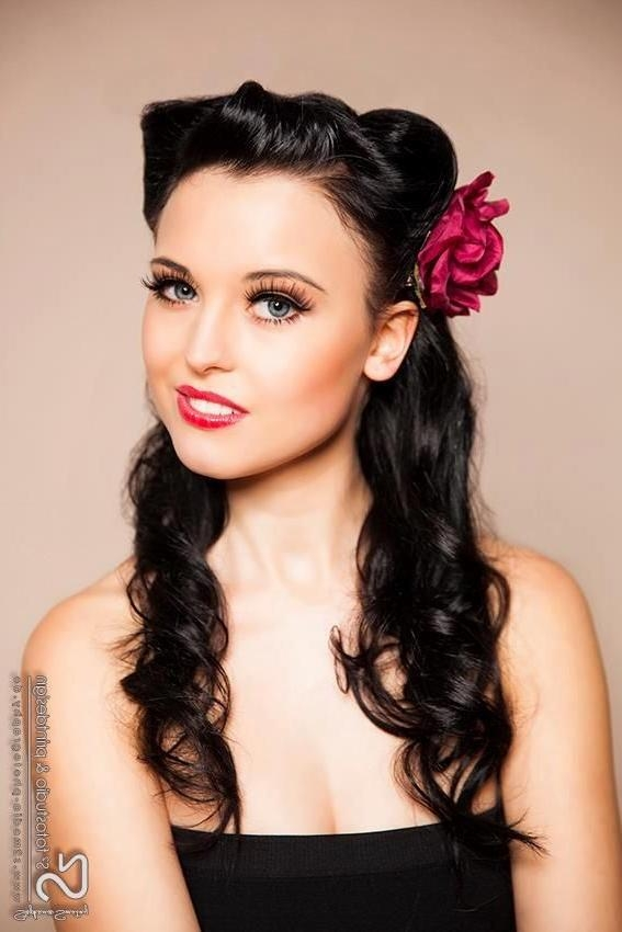 Best 20+ Pin Up Hair Ideas On Pinterest | Pin Up Hairstyles Pertaining To Long Hairstyles Pinned Up (View 6 of 15)