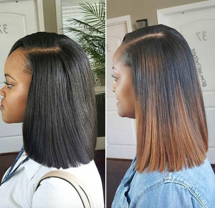 Best 20+ Short Sew In Hairstyles Ideas On Pinterest | Weave Bob Inside Long Bob Quick Hairstyles (View 12 of 15)