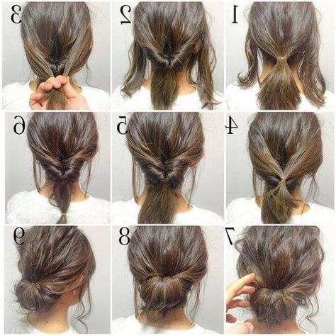 Best 20+ Shoulder Length Hairstyles Ideas On Pinterest | Shoulder Inside Medium Long Hair Updos (View 15 of 15)