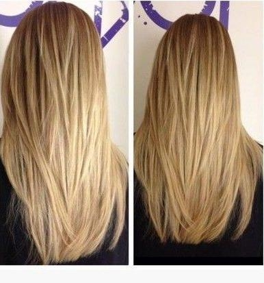 Best 20+ Straight Layered Hair Ideas On Pinterest | Long Straight For Long Hairstyles Layered Straight (View 4 of 15)