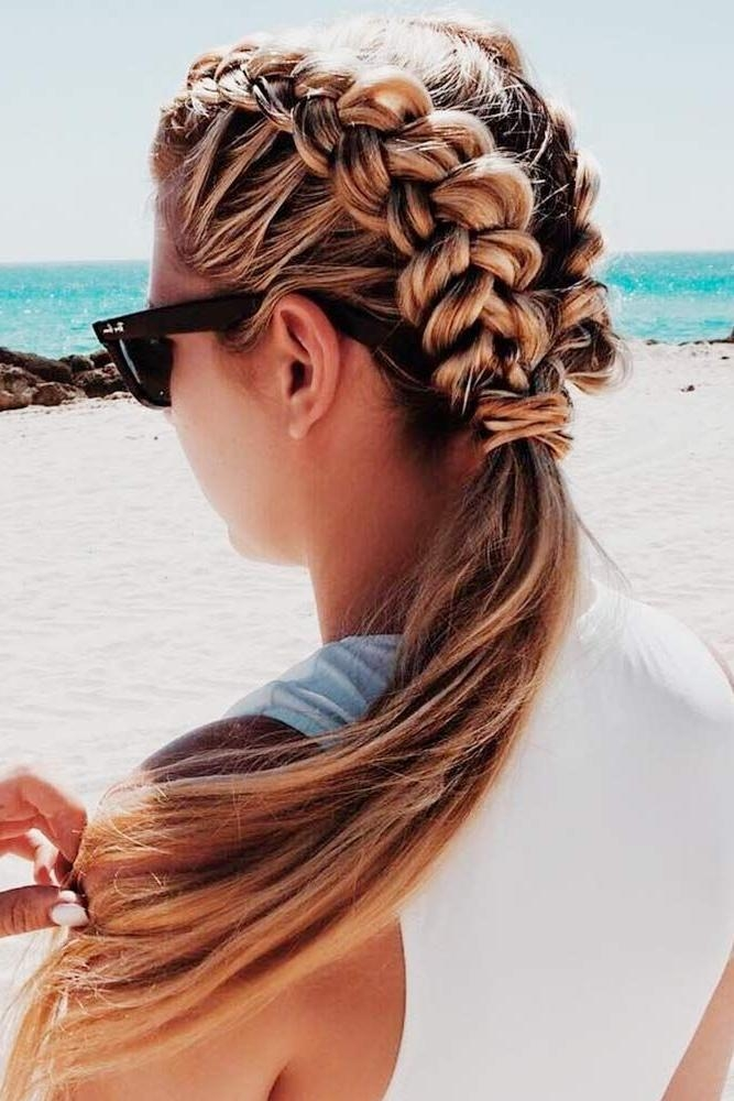 Best 20+ Summer Hairstyles Ideas On Pinterest | French Braid With Long Easy Hairstyles Summer (View 10 of 15)