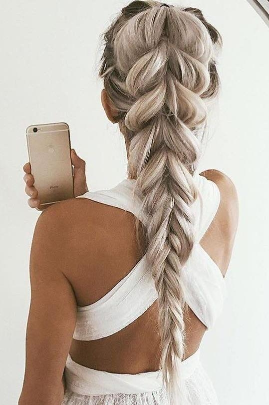 Best 20+ Thick Braid Ideas On Pinterest | Braids Tutorial Easy For Braids For Long Thick Hair (View 11 of 15)