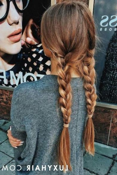 Best 20+ Thick Braid Ideas On Pinterest | Braids Tutorial Easy With Regard To Braids For Long Thick Hair (View 8 of 15)